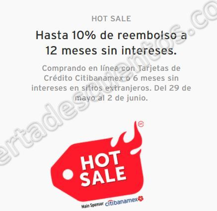 Promociones Citianamex Hot Sale 2017