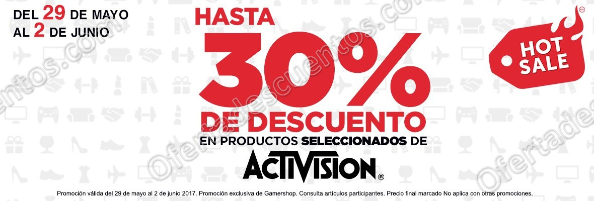 Promociones Hot Sale Gamers 2017