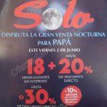 venta nocturna sanborns para papa 2 de junio 2017 OFFDE