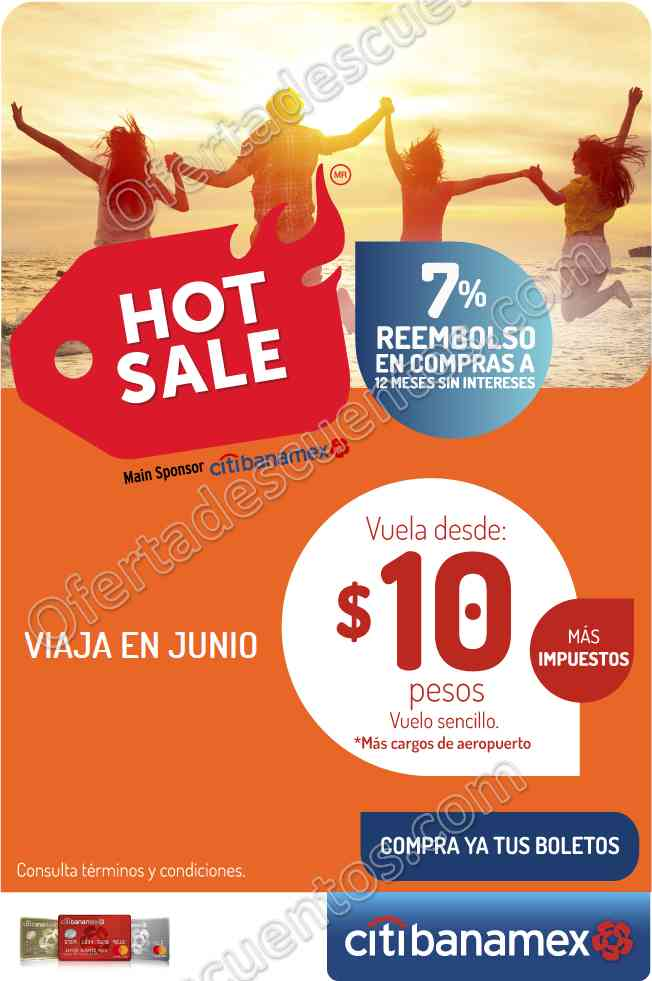 Promociones Hot Sale 2017 VivaAerobus