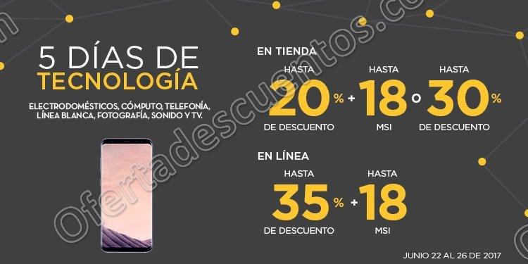 Palacio de Hierro: 5 Días de Tecnología hasta 35% de descuento del 22 al 26 de Junio