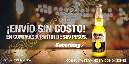 Superama: Envío Gratis al comprar Cerveza Corona 21 de Junio