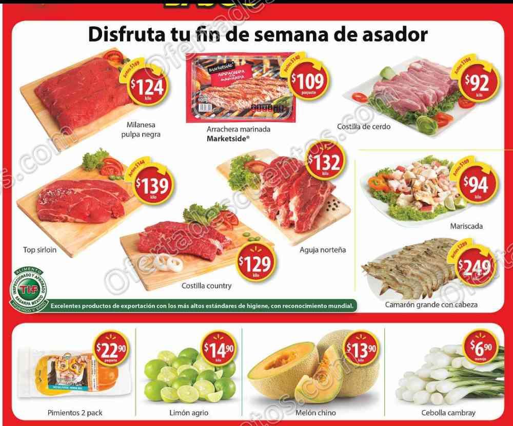 Walmart: Ofertas de Fin de Semana en Carnes, Frutas y Verduras del 30 de Junio al 2 de Julio 2017