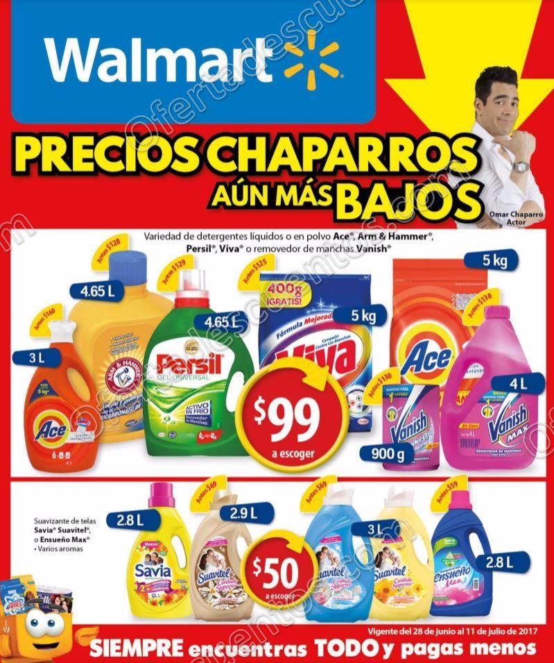 Walmart: Folleto de Promociones del 28 de Junio al 11 de Julio 2017