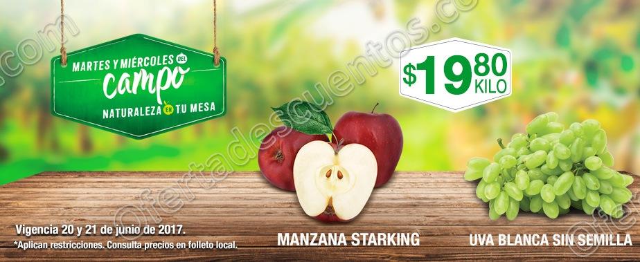 Comercial Mexicana: Martes y Miércoles Frutas y Verduras del Campo 20 y 21 de Junio 2017