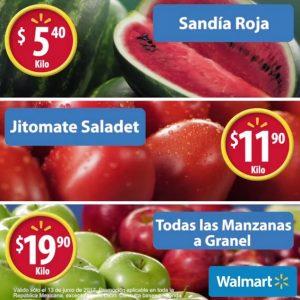 Martes de Frescura Walmart 13 de Junio de 2017