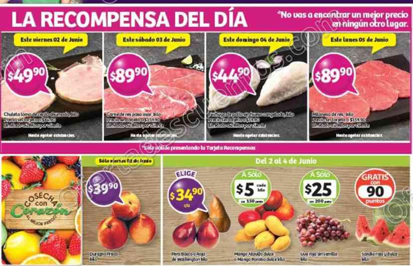 Soriana: Promociones Tarjetas Recompensas de Día del 2 al 5 de Junio 2017