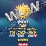 Venta Nocturna Sears 22 de junio OFFDE