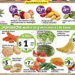 frutas y verduras soriana 20 y 21 junio OFFDE