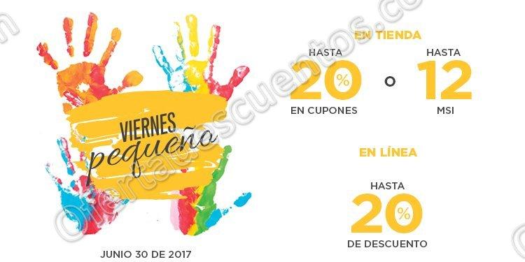 Palacio de Hierro: Viernes Pequeño Hasta 20% en Cupones y 12 Meses Sin Intereses