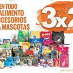 3x2 en alimento y accesorios para mascotas julio regalado OFFDE