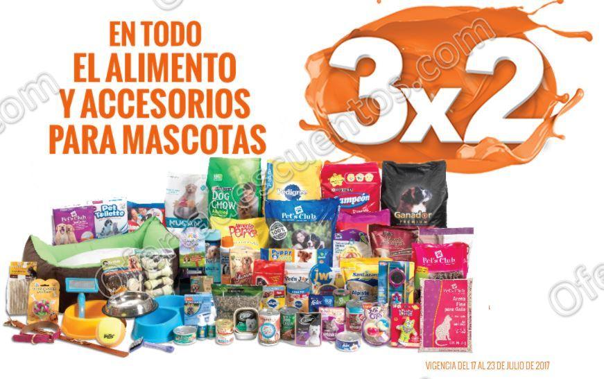 Temporada Naranja 2017 La Comer: 3×2 en alimento y accesorios para mascotas del 17 al 23 de Julio