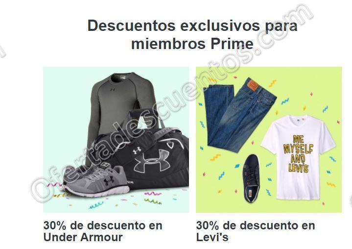 Amazon PrimeDay 2017: 30% de descuento en productos Under Armour y Levi's 5 de Julio