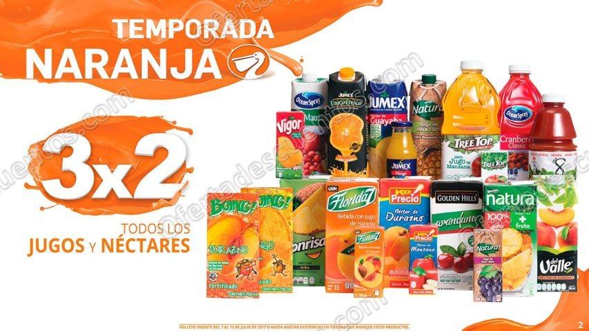 La Comer: Folleto de Promociones Temporada Naranja (antes Julio Regalado) del 7 al 13 de Julio 2017