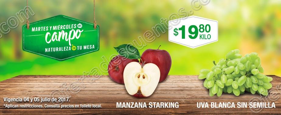 Comercial Mexicana: Ofertas Frutas y Verduras del Campo 4 y 5 de Julio de 2017