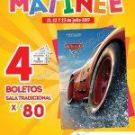 Funciones matinee cinemex 21 22 y 23 de julio 2017 OFFDE