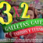Julio regalado 2017 3x2 en galletas cafes tarros y termos OFFDE