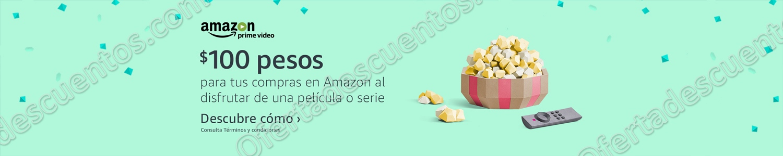 Amazon: Promociones PrimeDay $100 de regalo al ver Series o Películas y más 7 de Julio 2017