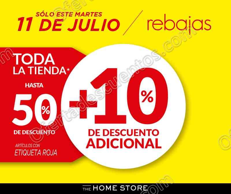 The Home Store: Rebajas hasta 50% de descuento más 10% adicional en toda la tienda 11 de Julio 2017