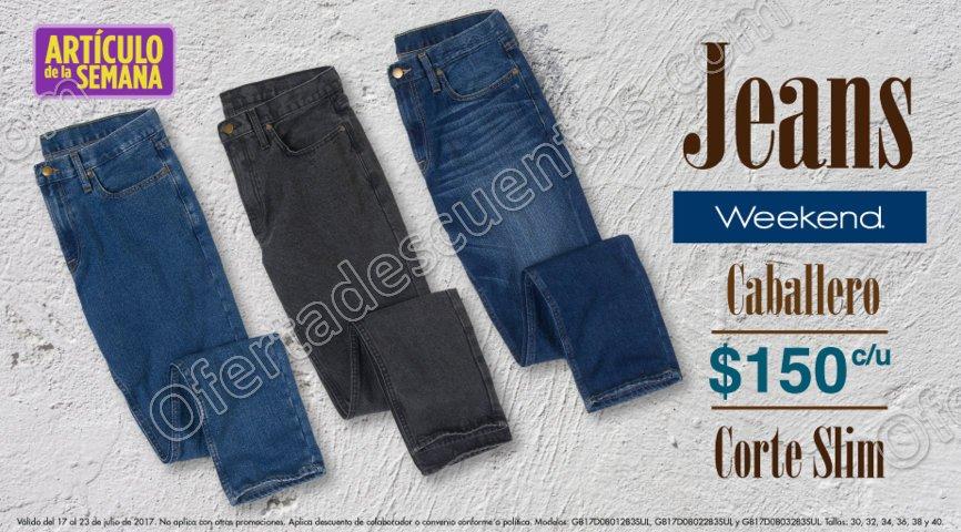 Suburbia: Artículo de la Semana Jeans Weekend para Caballero del 17 al 23 de Julio 2017