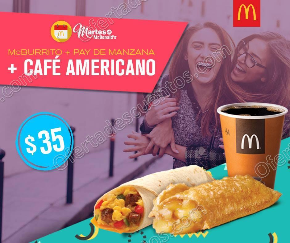 Cupones Martes de McDonald's 25 de Julio 2017
