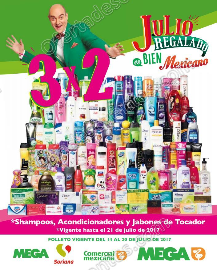 Julio Regalado 2017: Folleto de Ofertas del 14 al 20 de Julio 2017