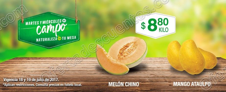 Frutas y Verduras del Campo Comercial Mexicana 18 y 19 de Julio 2017