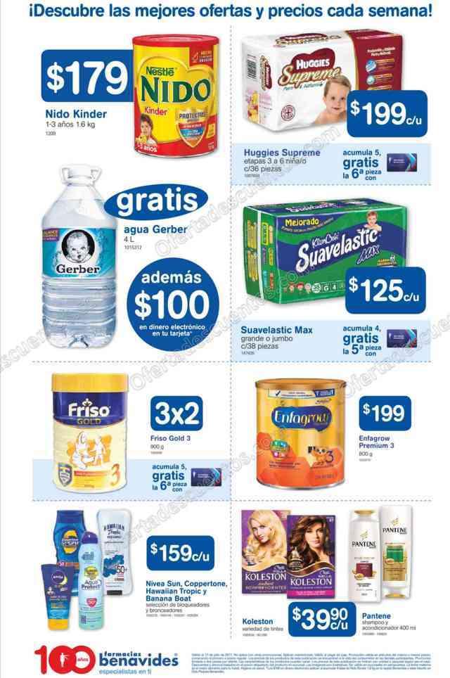 Farmacias Benavides: Promociones de Verano del 14 al 17 de Julio 2017