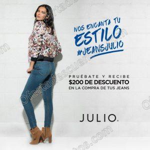 Julio: $200 de Descuento En Jeans Al Probartelos