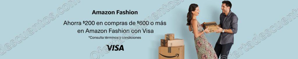 Amazon: $200 de descuento al comprar $600 o más en Ropa, Calzado, Accesorios y más con Visa