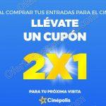 Cupones al 2x1 en cinepolis OFFDE