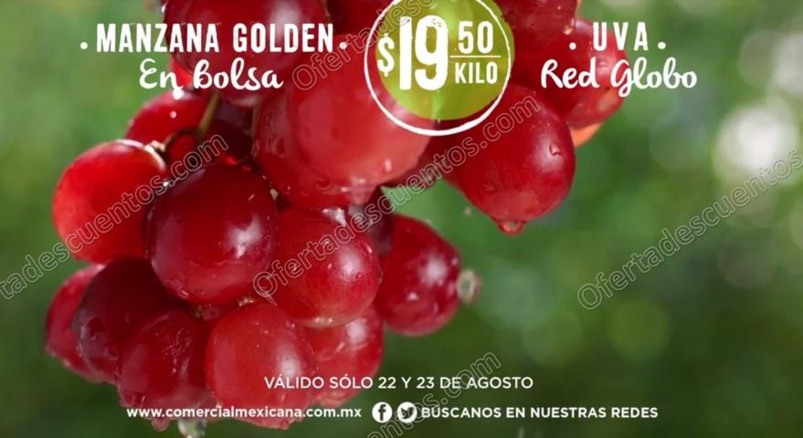 Comercial Mexicana: Frutas y Verduras del Campo 22 y 23 de Agosto 2017
