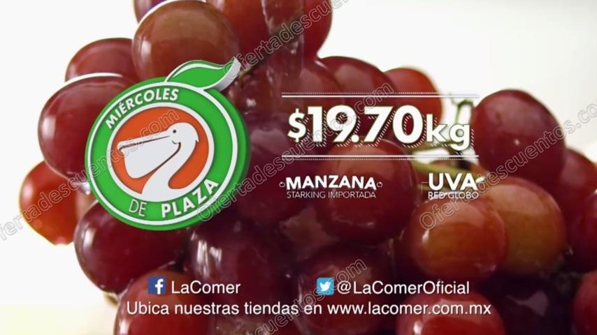 Ofertas Frutas y Verduras Miércoles de Plaza La Comer 23 de Agosto 2017