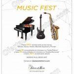 Music Fest Palacio de Hierro del 14 al 28 de agosto 2017 OFFDE