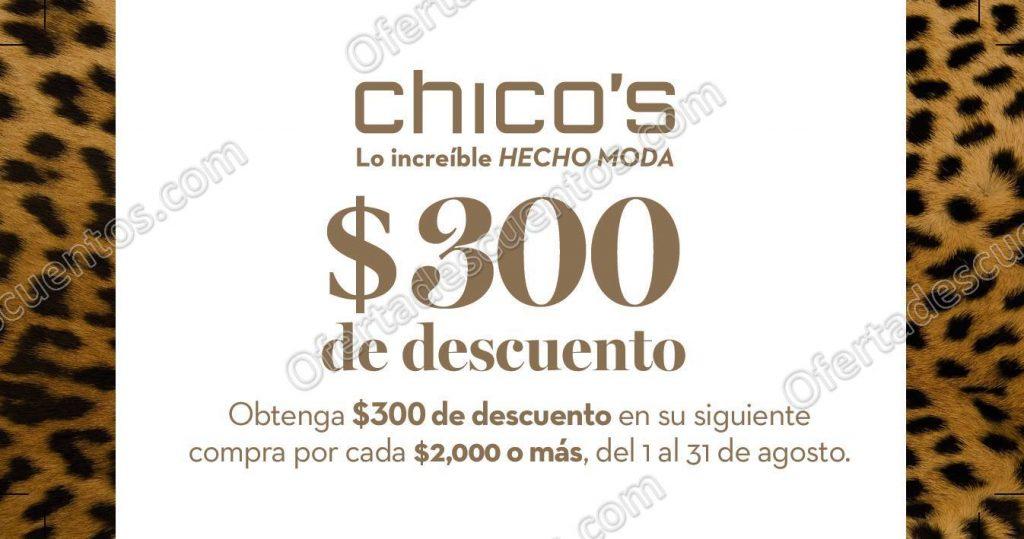 Chico's: $300 de descuento para tu siguiente compra