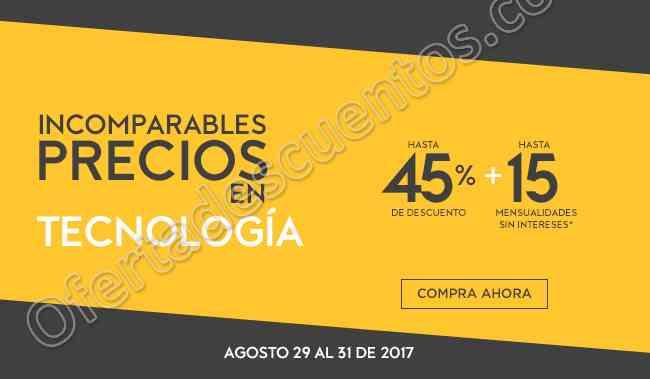 Palacio de Hierro: Hasta 45% de Descuento en Tecnología