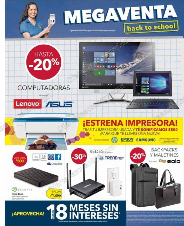Best Buy: Folleto Megaventa Regreso a Clases del 17 al 23 de Agosto 2017