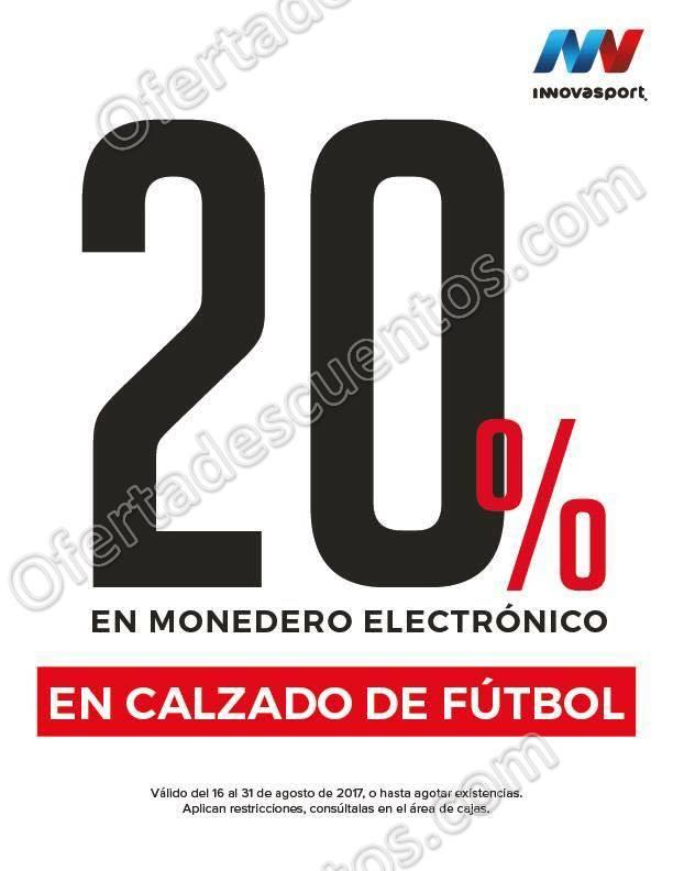 Innovasport: 20% de bonificación en Calzado de Fútbol al 31 de Agosto
