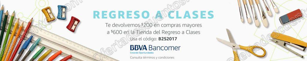 Cupón $200 Amazon Regreso a Clases con BBVA Bancomer