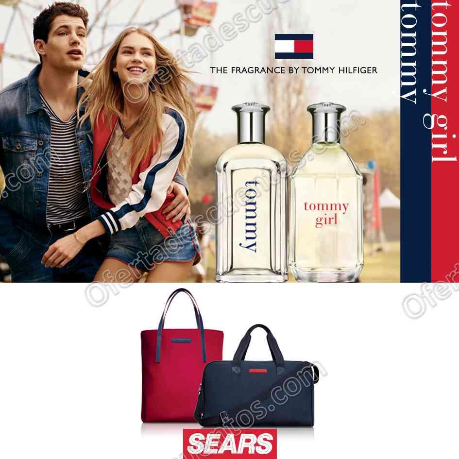 Sears: Bolsa de Regalo al Comprar Fragancia Tommy Hilfiger