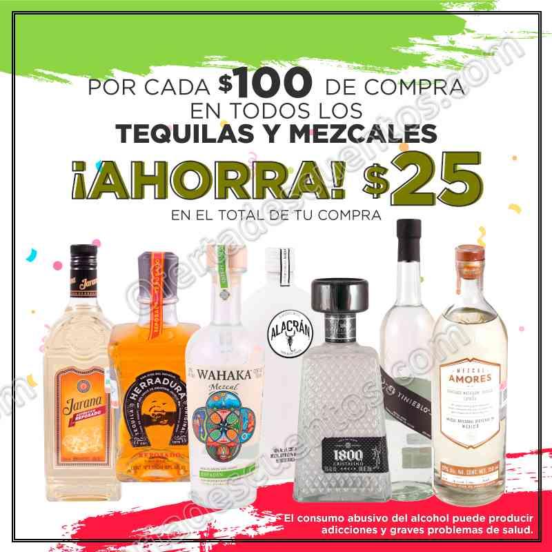 HEB: $25 Pesos de Descuento por Cada $100 de Compra en Tequilas y Mezcales