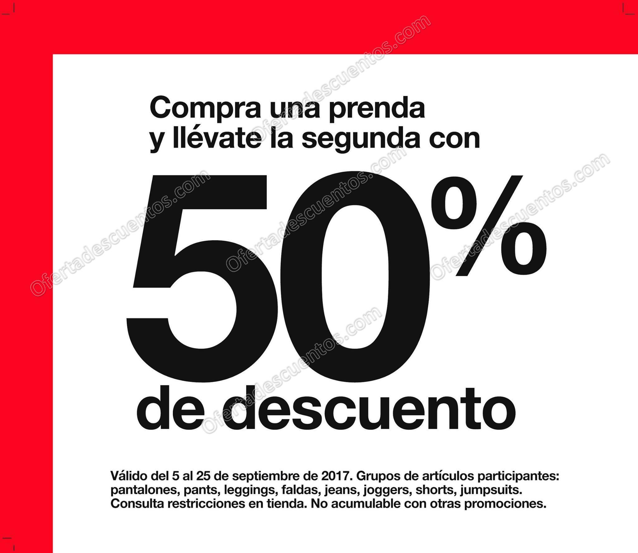 GAP: 50% de Descuento en Segunda Prenda