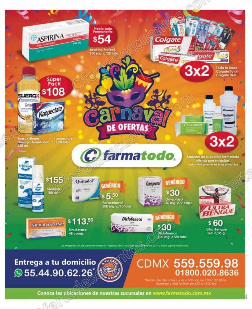 Farmatodo: Carnaval de Ofertas 3×2 en toda la línea Colgate Total, 360 y más