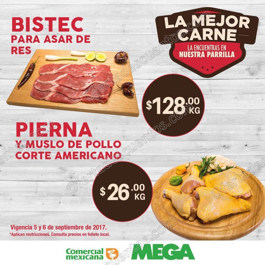Martes y Miércoles de Carnes en Comercial Mexicana 5 y 6 de Septiembre 2017