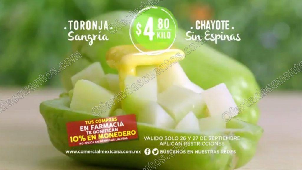 Comercial Mexicana: Frutas y Verduras del Campo 26 y 27 de Septiembre 2017