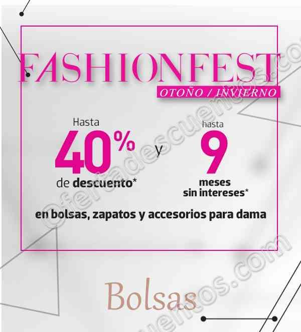 Fashion Fest Liverpool 2017 Otoño/Invierno hasta 40% de descuento