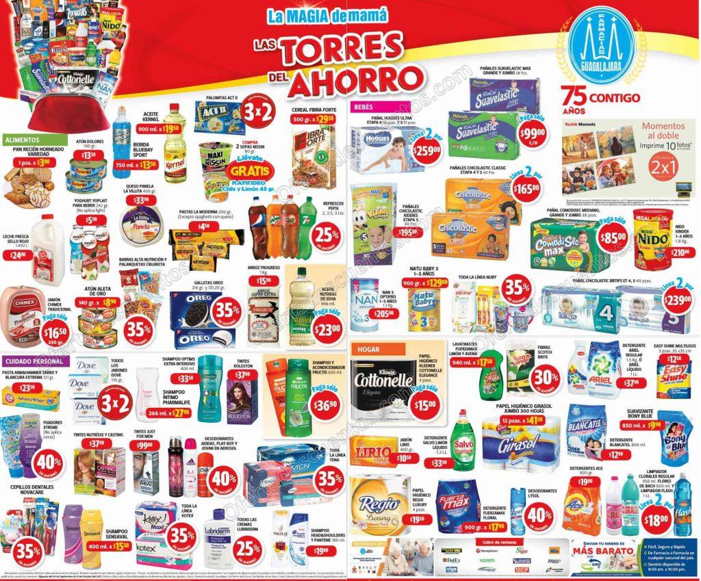 Promociones Fin de Semana Farmacias Guadalajara 29 de Septiembre al 1 de Octubre 2017