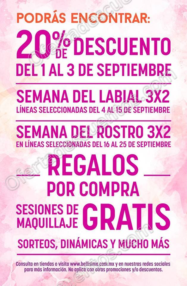 Makeup Fest Bellísima Septiembre 2017