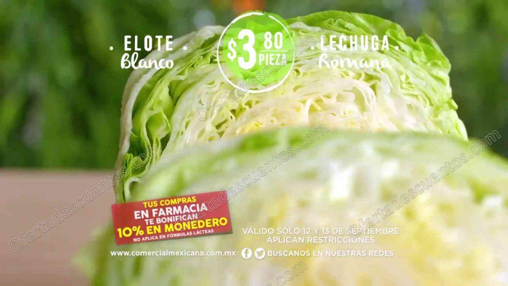 Comercial Mexicana: Martes y Miércoles de Frutas y Verduras 12 y 13 de Septiembre