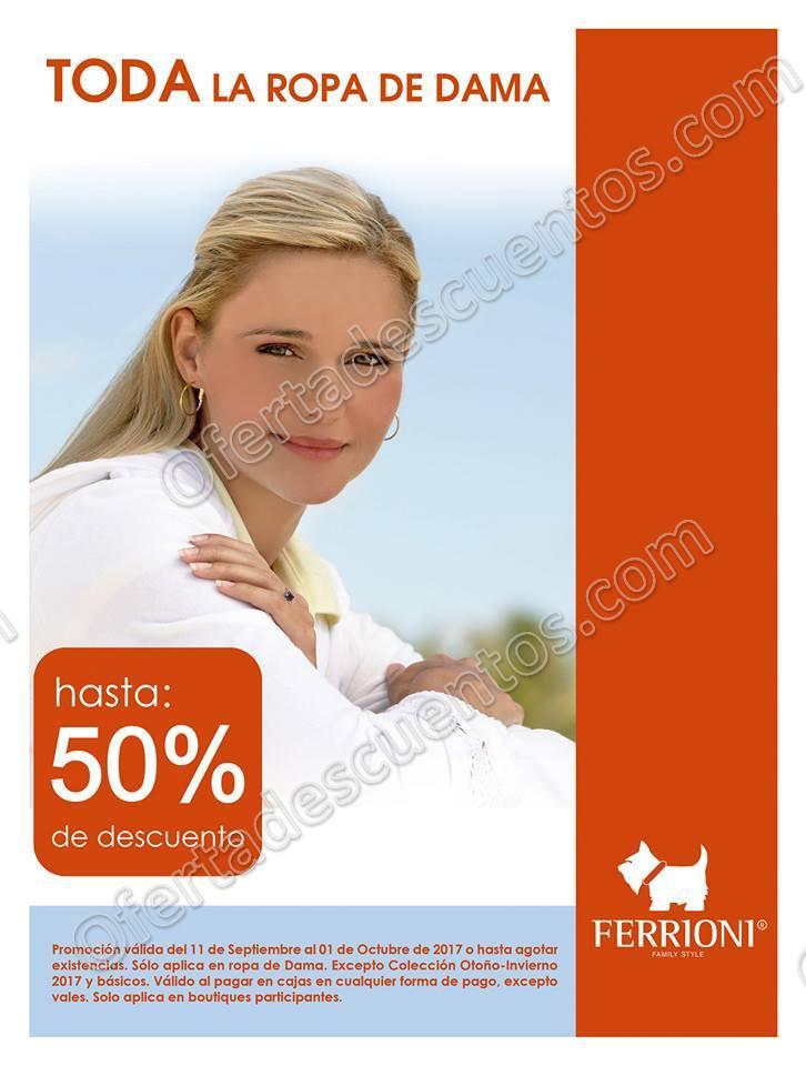 Ferrioni: Hasta 50% de Descuento en Ropa Para Dama